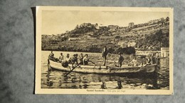 CPA-ITALIE-ITALY-CASTEL GANDOLFO-Una Gita Sul Lago - Italia