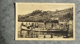 CPA-ITALIE-ITALY-CASTEL GANDOLFO-Una Gita Sul Lago - Other Cities
