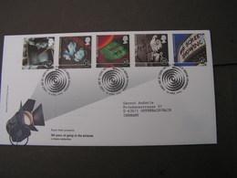 GB FDC 1996 Kino Film  1620-1624 - 2001-2010 Dezimalausgaben