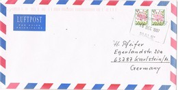 31076. Carta Aerea MALÉ (Is. Maldivas) 1997 To Germany - Maldivas (1965-...)