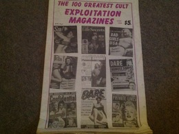 The 100 Greatest Cult Exploitation Magazines USA Dont Quelques Cover Marilyn Monroe - Books, Magazines, Comics