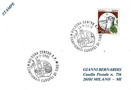 ITALIA - 1991 BOLOGNA Campionati Europei Tiro A Segno - Tiro (armi)