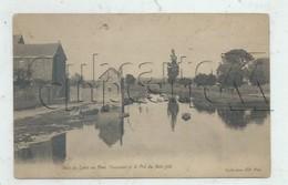 Nantes (44) : Bras De Loire Au Pont Toussaint Et Le Pré Du Bois-Joli Env 1910  PF. - Nantes