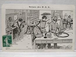 Scènes Des P.T.T.Illustrateur Morer. La Receveuse - Poste & Facteurs