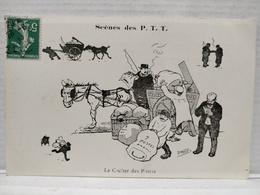 Scènes Des P.T.T.Illustrateur Morer. Le Cocher Des Postes - Postal Services