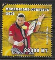 MOZAMBIQUE  N° 1578 * * ( Cote 6e ) Jo 2000  Tennis Rafter - Tennis