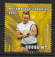 MOZAMBIQUE  N° 1573 * * ( Cote 4.50e ) Jo 2000  Tennis Hingis - Tennis