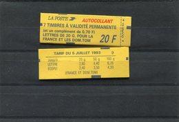 FRANCE MARIANNE DE BRIAT Carnet 1503 - Carnets