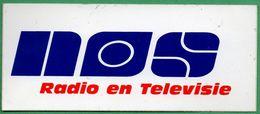 NOS RADIO TELEVISION * AUTOCOLLANT A1031 * - Autocollants