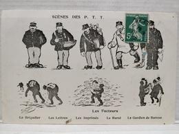Scènes Des P.T.T.Illustrateur Morer. Les Facteurs - Poste & Facteurs