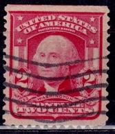 United States 1903, George Washington, 2c, Sc#319, Used - Etats-Unis