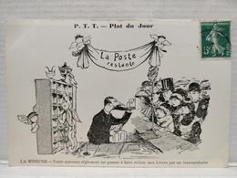 Plat Du Jour.  P.T.T. Illustrateur Morer. La Mineure - Poste & Facteurs