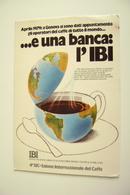 1979 GENOVA  4° SIC  SALONE INTERNAZIONALE DEL CAFFE'  NON   VIAGGIATA PUB  PUBBLICITA - Negozi