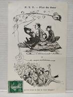 Plat Du Jour.  P.T.T. Illustrateur Morer. L'Avancement - Post