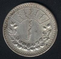 Mongolei, 1 Tugrik 1925, Silber, XF - Mongolie