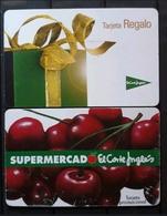 2 TARJETAS REGALO DE EL CORTE INGLÉS - Tarjetas De Regalo