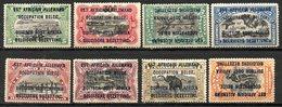 AFRIQUE - RUANDA-URUNDI - (Occupation Belge) - 1916 - N° 28 à 35 - (Lot De 8 Valeurs Différentes) - 1916-22: Mint/hinged