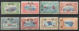 AFRIQUE - RUANDA-URUNDI - (Occupation Belge) - 1918 - N° 36 à 43 - (Lot De 8 Valeurs Différentes) - 1916-22: Mint/hinged