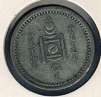 Mongolei, 15 Mongo 1925, Silber - Mongolie