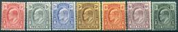 Turks & Caïcos - 1909/1911 - Yt 49/55 - Série Courante - Edouard VII - * Charnière - Turks & Caicos (I. Turques Et Caïques)