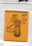 1971-74 10p Booklet DN51 - Booklets