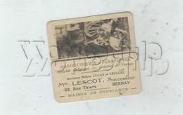Bernay (27) : Calendrier Maroquinnerie Lacoste Rue Thiers 14 Pages + 4 De Garde  De 1936. - Petit Format : 1921-40