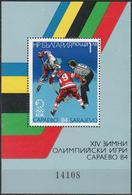 BULGARIA 1984, SPORT, WINTER OLYMPICS In SARAJEVO, MNH BLOCK, GOOD QUALITY, *** - Bulgaria