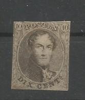 OCB  6 Ongestempeld - 1849-1850 Medallions (3/5)