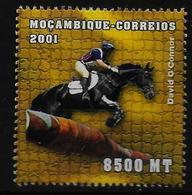 MOZAMBIQUE    N° 1551  * *  (cote 2e )  Hippisme - Hípica