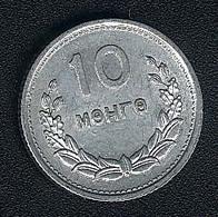 Mongolei, 10 Mongo 1959, AUNC - Mongolie