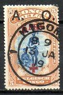 AFRIQUE - RUANDA-URUNDI - (Occupation Belge) - 1918 - N° 43 - + 5 F. S. 5 F. Jaune-brun - (Au Profit De La Croix-Rouge) - Ruanda-Urundi