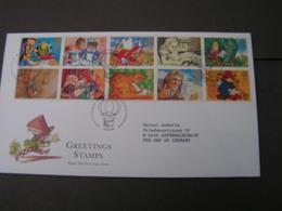 GB FDC 1994 Kinderbuch  1493-1502 - 1991-2000 Em. Décimales