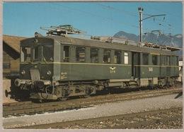 GFM Gruyère - Fribourg - Morat - Bulle Am 9.11.1983 - Trains
