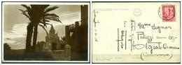 CARTOLINA - CV1508 COLONIE ITALIANE SOMALIA Merca Una Moschea, FG, Viaggiata 1936 Per Olgiate Comasco, Ottime Condizioni - Somalie