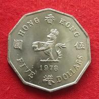 Hong Kong 5 Dollars 1978 Hongkong Wºº - Hong Kong