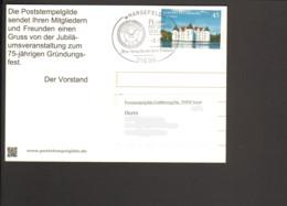 BRD .Postkarte Mit Stempel 75 Jahre Poststempel-Gilde 2013 - Post