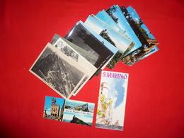 Lotto 25 Cartoline Repubblica Di San Marino - Saint-Marin
