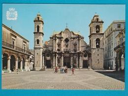 Cuba - Plaza De La Catedral De La Habana - Viaggiata - Cuba