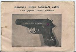 7738 Turquie Turkey 9 Mm Gun Pistol Kirikkale 1947 - Catalogs
