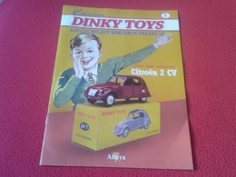 SPAIN FASCÍCULO COLECCIONABLE DINKY TOYS JUGUETES LOS COCHES JUGUETE TOY CAR COCHE CITROEN CITROËN 2 CV CABALLOS ALTAYA - Books, Magazines, Comics