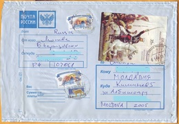 2013 Russia Moldova Used Cover Skobelev. Turkey. Russian-Turkish War. Ryazan Bulgaria - Moldova