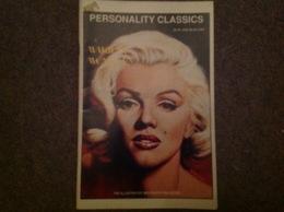 Revue Cover Dessinée De Marilyn Monroe, Personality Classics 1991 Sa Vie En Bd Complete - Libri, Riviste, Fumetti