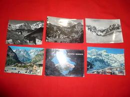 Lotto 6 Cartoline Courmayeur Valle D'Aosta - Italia