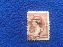 United States Stamp 1883  Scott # 210 Canceled & Hinged - Used Stamps