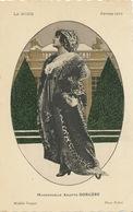 Art Deco Photo La Mode Fevrier 1913 Mlle Arlette Dorgere Chanteuse Modele Vergne  Photo Talbot Edit ELD - 1900-1949