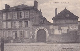 89-Avallon Le Tribunal & La Maison D'Arrêt - Avallon