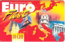 SWITZERLAND - Monuments, Euro Prepaid Card 10 CHF, Exp.date 31/12/06, Used - Schweiz