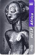 SWITZERLAND - Help Africa, Medecins Sans Frontieres, Telesonique Prepaid Card CHF20, Used - Schweiz