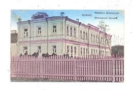UKRAINE - RIWNE / ROWNO, Mädchen Gymnasium, 1918, Druckstelle, Deutsche Feldpost - Ukraine