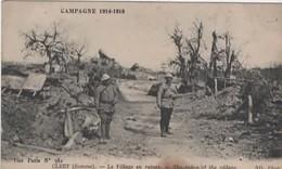 Campagne 1914-1918 - CLERY (Somme) Le Village En Ruines - France